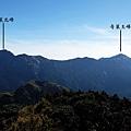東南方眺望奇萊連峰