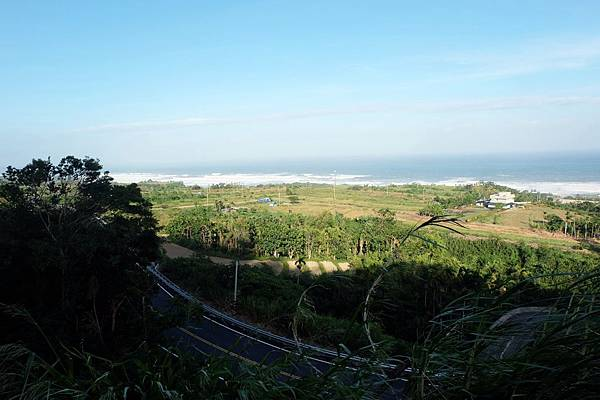 長濱海岸與公路風光