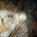 石灰岩洞穴岩壁紋理