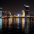 鼓浪嶼對岸廈門夜景