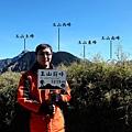 玉山前峰登頂與玉山群峰合影