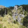 玉山前峰「石瀑」特寫
