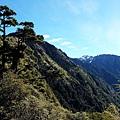 左為玉山西峰