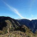 玉山南峰方向