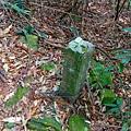 沿途仍可見古道路碑遺跡