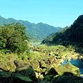 「侯硐-三貂嶺」基隆河岸風景