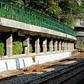 三貂嶺車站月台