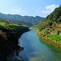 基隆河蜿蜒入平溪