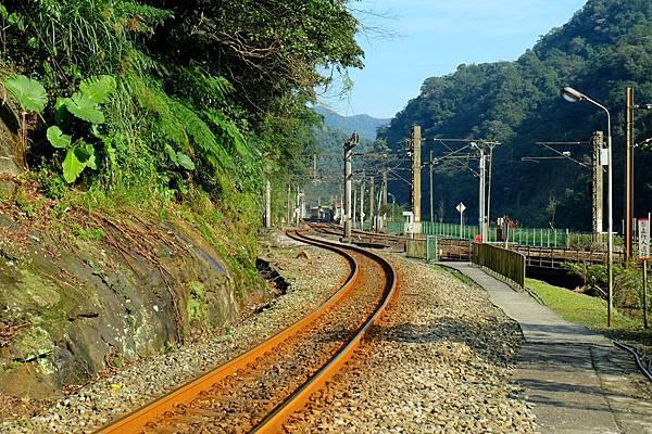 平溪線往三貂嶺車站方向