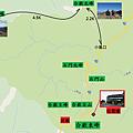 合歡群峰Map