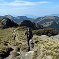 合歡西峰步道風景