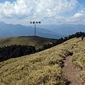 山頭6上看合歡西峰