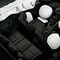 安全氣囊配備(福特官網照片)