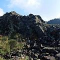 角礫岩露出