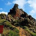 無耳茶壺頂巨岩