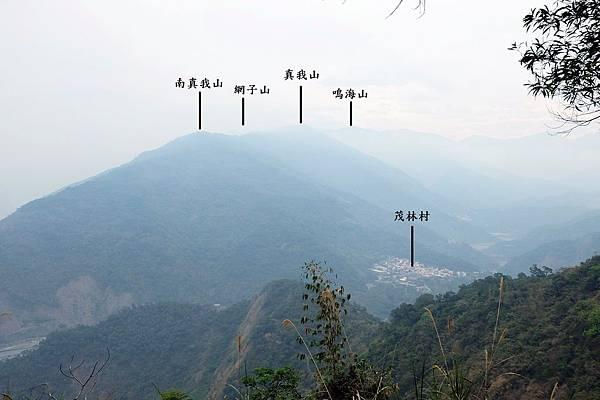 眺望茂林山谷