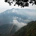 下山途中眺望茂林山谷