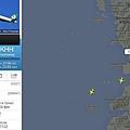 flightradar24航道圖