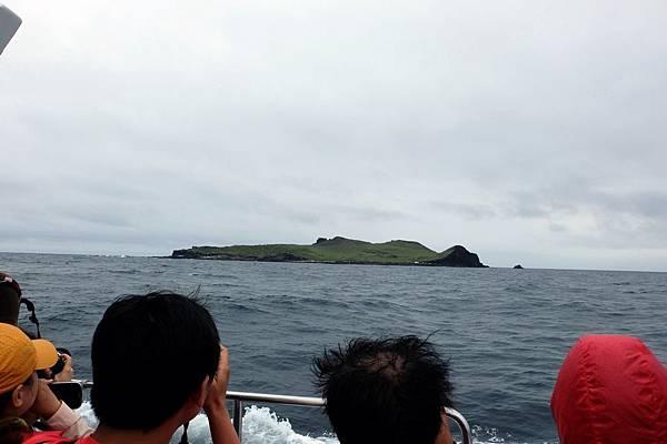 海上浮現棉花嶼