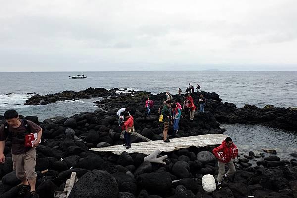 棉花嶼海灣礁石