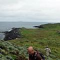 登西南小山頭遙望棉花嶼西部海岸