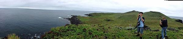 棉花嶼西部海岸展望