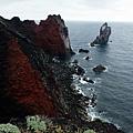 棉花嶼火山地形海岸風景