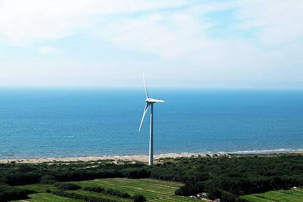 海邊大風車