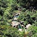 山海瀑布之源河床