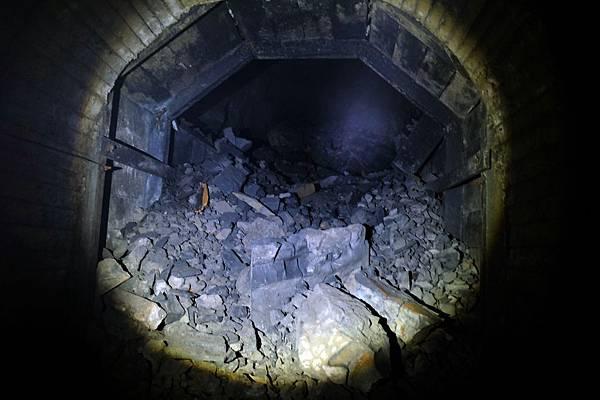 第2號隧道崩塌處東端