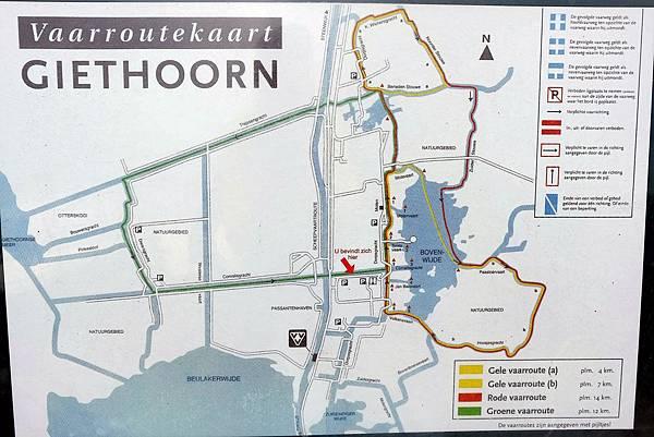 遊船河路線地圖