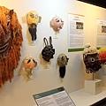 水營野遊面具展示