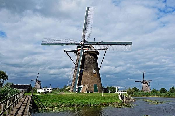 荷蘭風車@小孩堤防