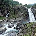 太古拉筏瀑布第一層匯流