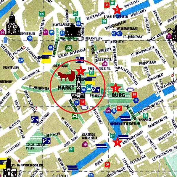 市集廣場位置圖