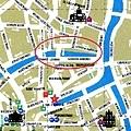 Hotel Ter Brughe河道位置圖
