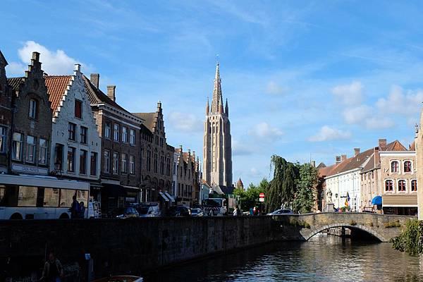 聖母教堂與運河風光