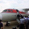 準備搭機高麗航空飛往平壤