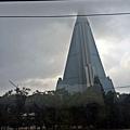 平壤最高建築物-柳京賓館