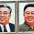 金日成、金正日肖像