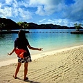 帛琉的碧海連天