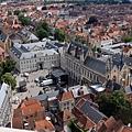 俯瞰城堡廣場
