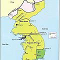 1950.9.15~11.30韓戰勢力地圖