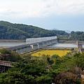 京義線鐵路跨越臨津江往北