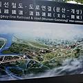 京義線鐵道路線圖