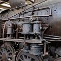 韓戰時期火車頭千瘡百孔