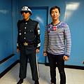 藍屋中跟南韓憲兵合照
