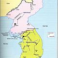1953.7.27~今日朝鮮半島勢力地圖
