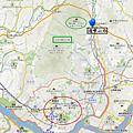 北漢山國立公園Map