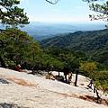 石坡開闊之地展望風景